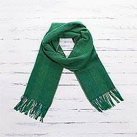 Featured review for 100% alpaca scarf, Luxe