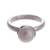 Cultured pearl cocktail ring, 'White Nascent Flower' - Cultured Pearl Cocktail Ring in White from Peru (image 2a) thumbail
