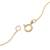 Gold plated quartz pendant necklace, 'Golden Circle' - 18k Gold Plated Quartz Pendant Necklace from Peru (image 2d) thumbail