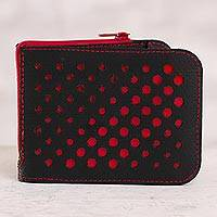 Recycled rubber wallet,