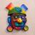 Ceramic mask, 'Ai Apaec' - Handcrafted Ceramic Wall Mask of Ai Apaec from Peru (image 2b) thumbail