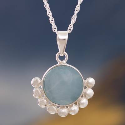 Opal pendant necklace, Bauble Delight