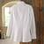 Cotton blouse, 'Lily of the Incas' - Lily of the Incas Button-front White Blouse (image 2b) thumbail
