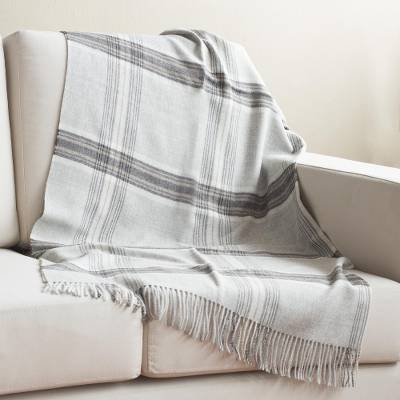 100% baby alpaca throw, 'Andean Sophistication' - 100% Baby Alpaca Throw in Taupe Crafted in Peru
