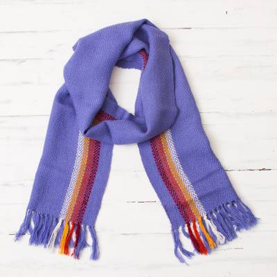 100% alpaca scarf, Stripes and Colors
