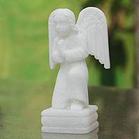 Stone sculpture, Angel in Prayer