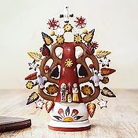 Ceramic candleholder,