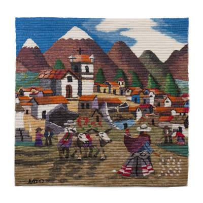 Hand Made Cultural Wool Tapestry Wall Hanging