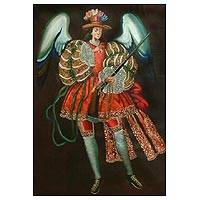 Archangel Gabriel with Musket Peru