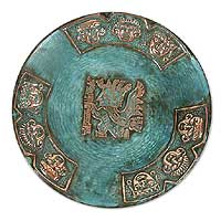 Copper plate, Inca Messenger