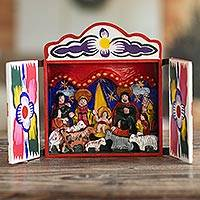 Nativity scene, 'Great Day' - Nativity scene