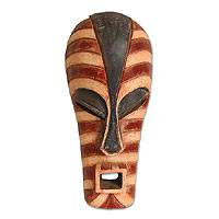 Wood mask, 'Head of the House' - Wood mask