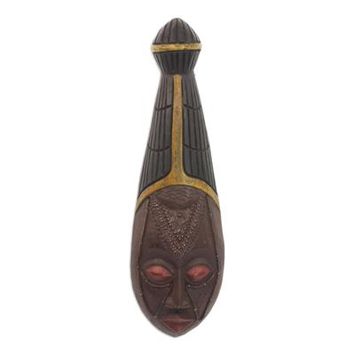 Fair Trade Wood Wall Mask