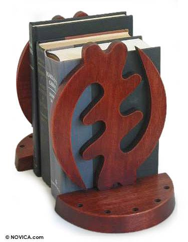 African Cedar Bookends (Pair)