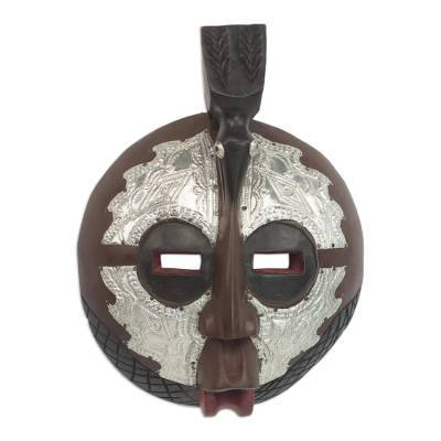Handcarved African Wood Mask
