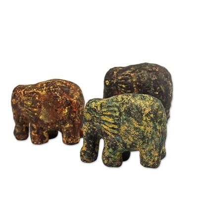 Ceramic sculptures (Set of 3)