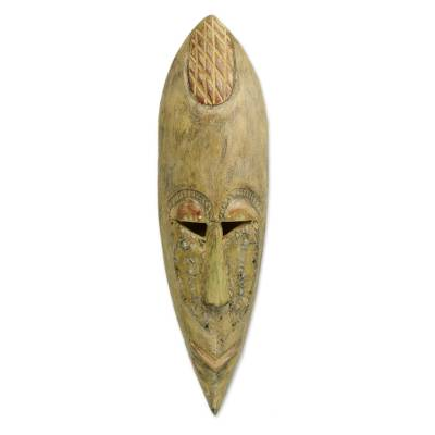 Fair Trade African Wood Mask