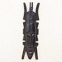 Guinea wood mask,