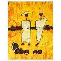 Batik art City Finery Ghana