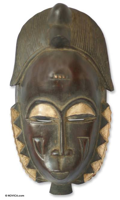 Hand Crafted African Mask
