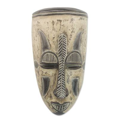 Unique Nigerian Wood Mask