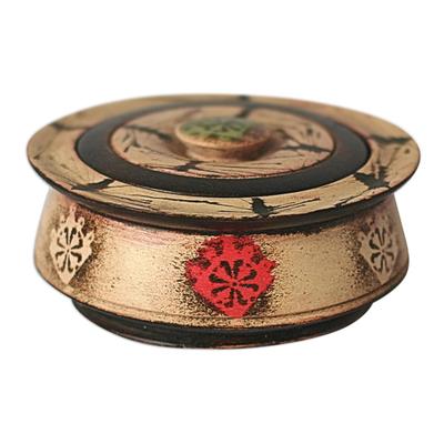 Wood decorative box