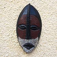 Ewe wood mask, 'Peace' - Ewe wood mask