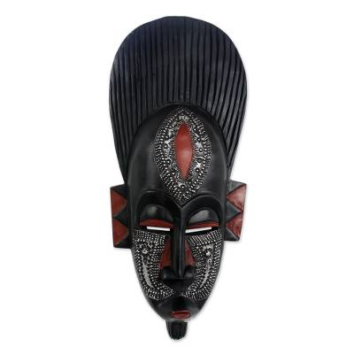 Handcrafted African Wood Mask