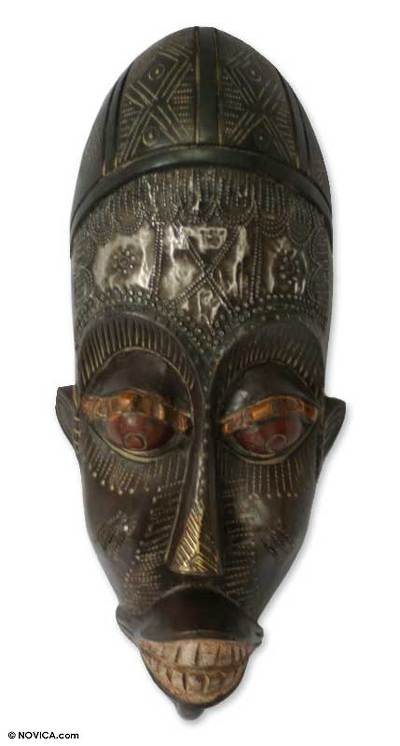 Handcrafted Senegalese Wood Mask