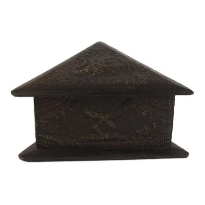 Handmade Wood and Aluminum Jewelry Box