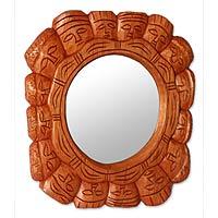Cedar mirror,