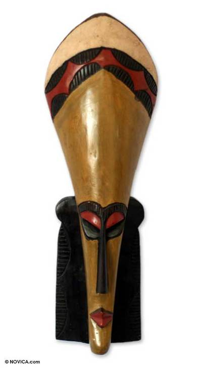 Ga wood mask