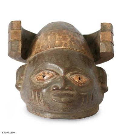 Yoruba wood mask
