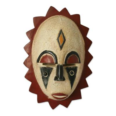 Malian wood mask