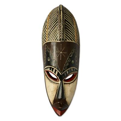 Cameroon wood mask