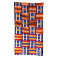 Cotton kente cloth,