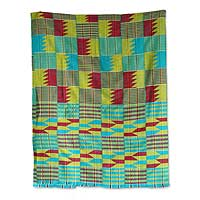 Cotton kente cloth, 'Ultimate' - Cotton kente cloth