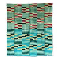 Cotton kente cloth,