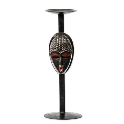 Hand Made African Candleholder
