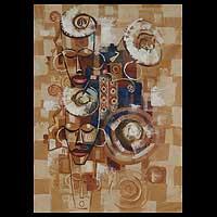 African Ancestral Mask III Ghana