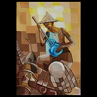 'Goje Woman' - Expressionist Painting