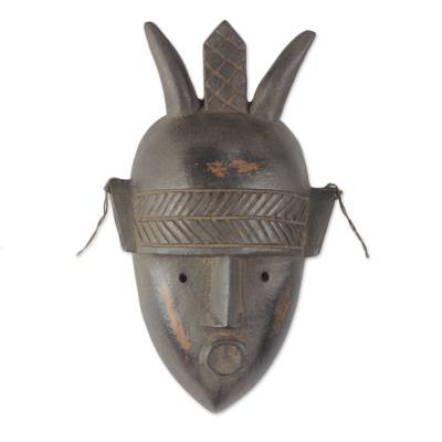 Artisan Crafted African Wood Mask