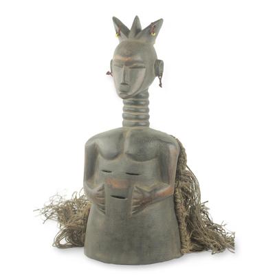 Liberia wood mask