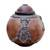 Calabash decorative box, 'Monkey Wisdoms' - Calabash decorative box thumbail