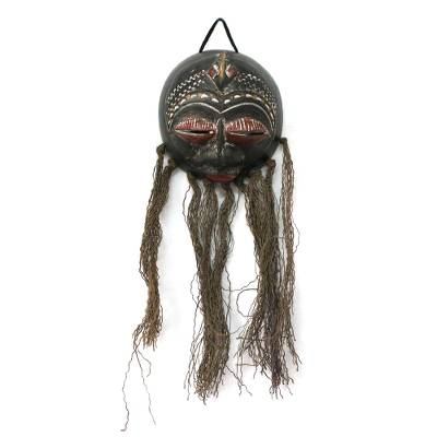 Dried gourd mask