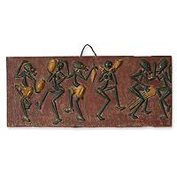 Wall art, 'Dancers' - Wall art