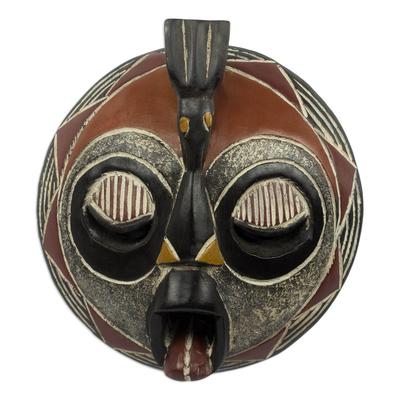 Handmade Malian Wood Mask