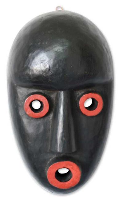 Dan Tribe Wood Mask