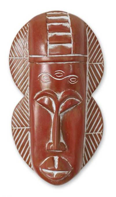 Fair Trade Wood Mask