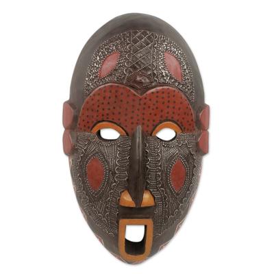 Fair Trade Ivory Coast Wood Mask
